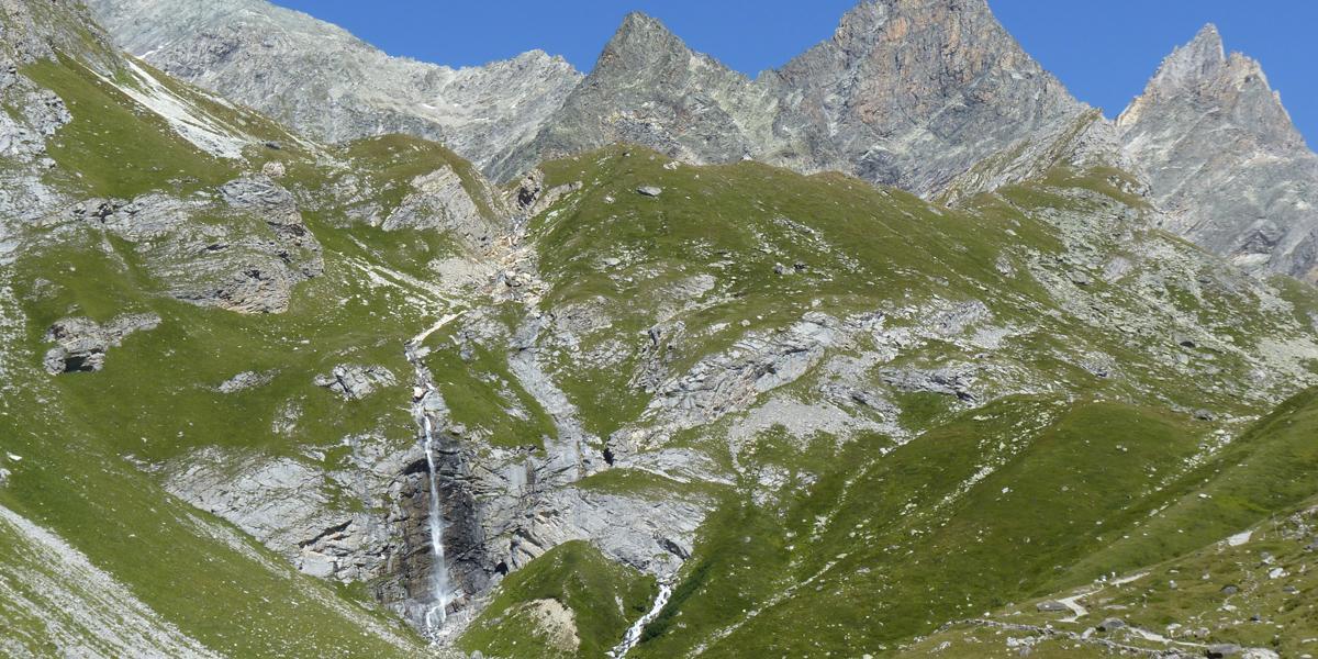 Parc national de la Vanoise (Cascade de la Fraîche, Savoie)