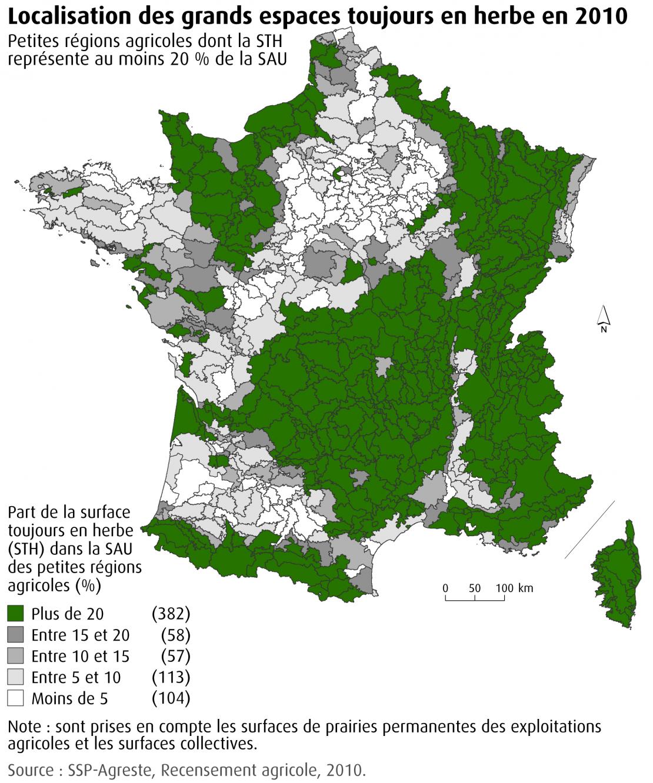 Données complètes par Petite Région Agricole (PRA)